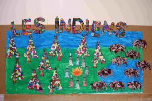 Fresque indien