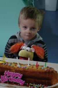 Timéo  a eu 4 ans.
