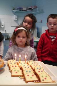 Eileen a eu 3 ans