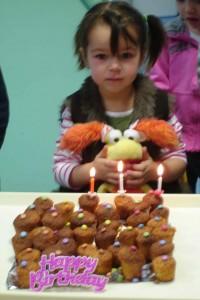 Léana a eu trois ans.