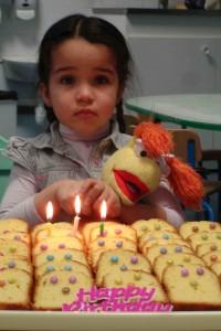 Lylouna a fêté ses 3 ans