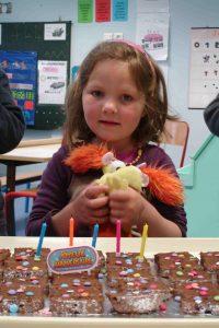 Margot a eu 5 ans